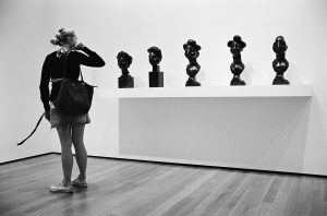 Photo noir et blanc au MoMA New York City