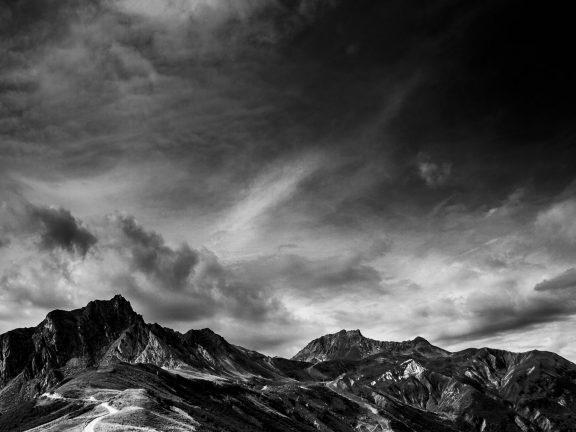 Black Moutain une serie de photos tout en noir et blanc